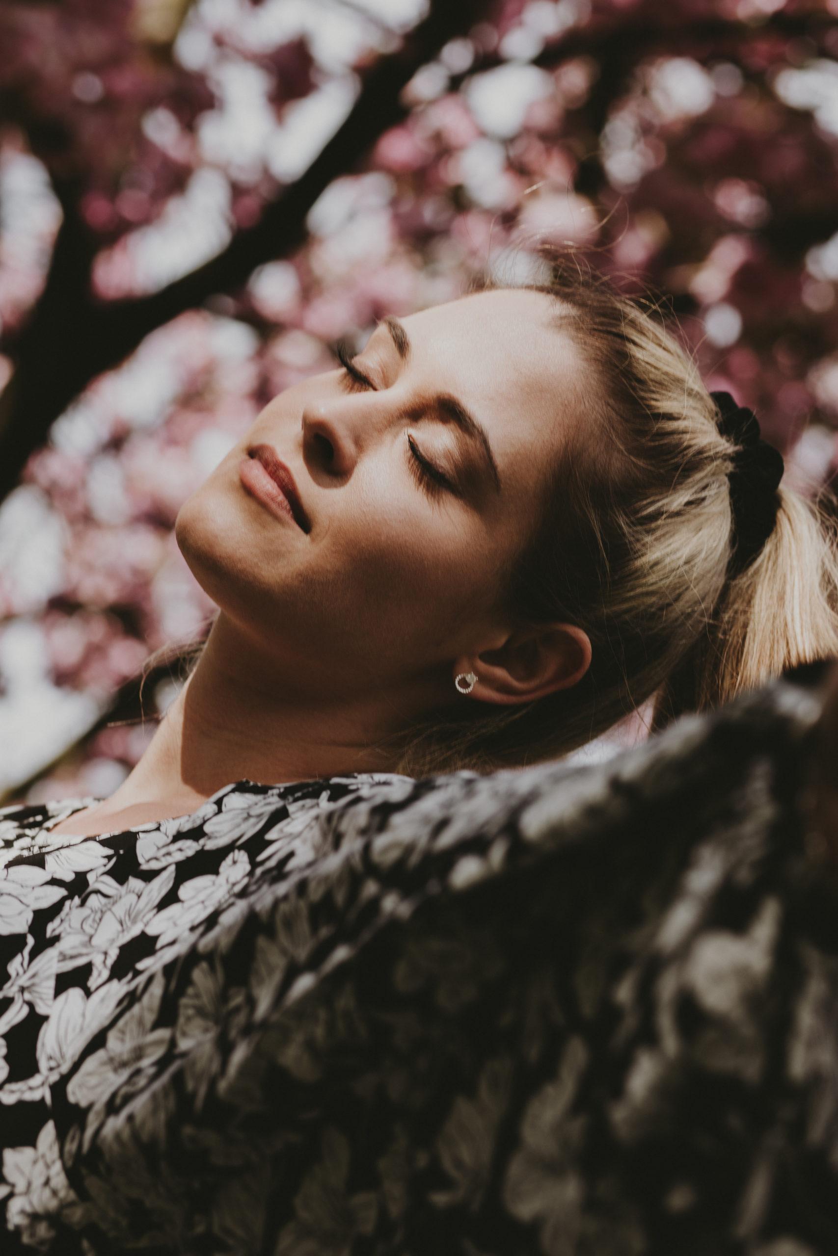 Fotoshooting Kirschblütenzeit