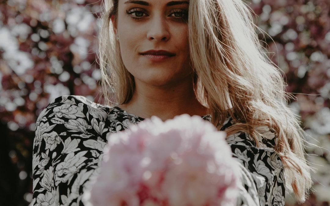 Fotoshooting zur Kirschblütenzeit