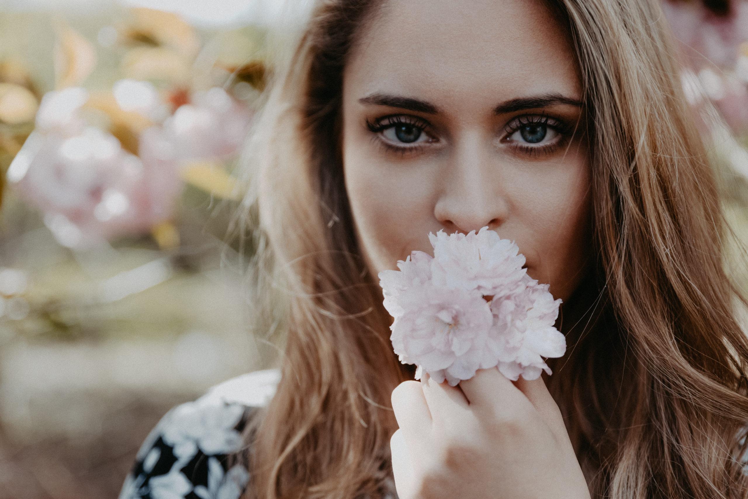 Fotoshooting Kirschblüten